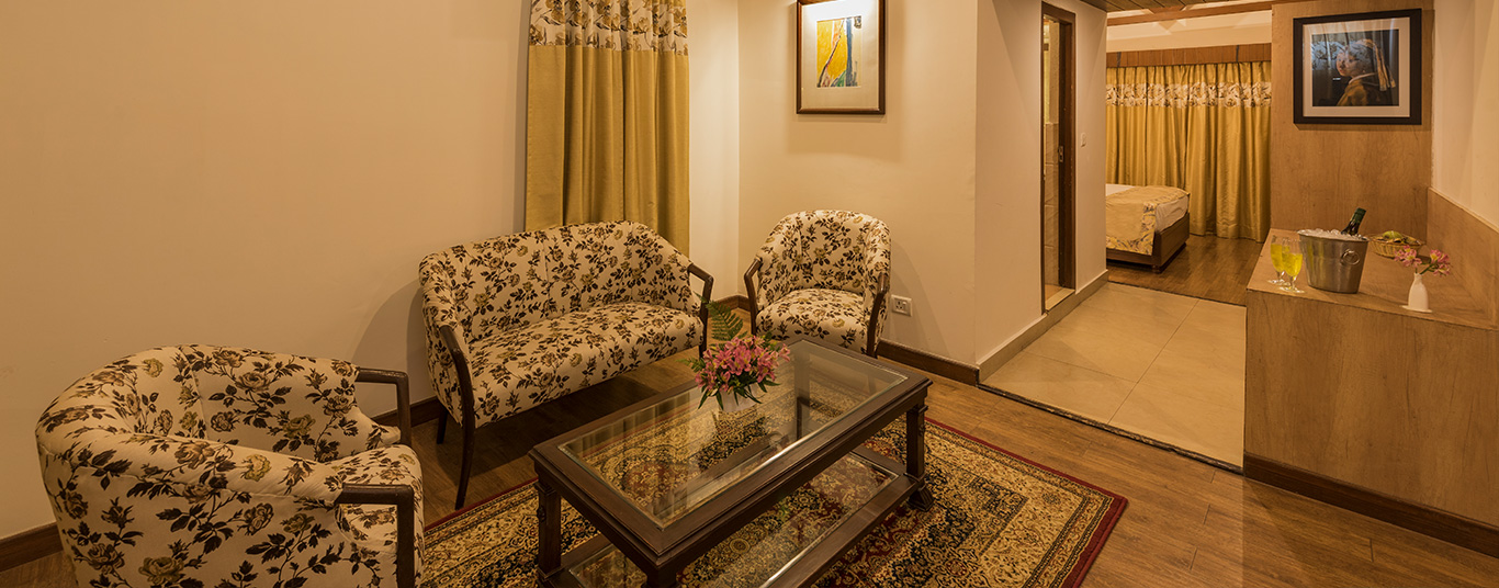 Experience a comfortable and serene stay at its luxurious best